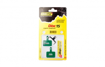 Swissstop D15 Organic Disc Brake Pad - Shimano Deore / Tektro