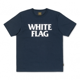 T shirt carhartt white flag navy white