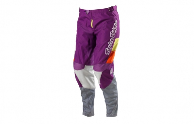 troy lee designs pantalon gp airway femme violet 40