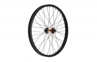 Rock bmx roue avant 20 swr edition limitee noir rasta