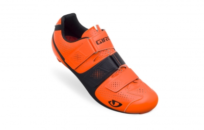 chaussures route giro prolight slx ii orange fluo noir 42