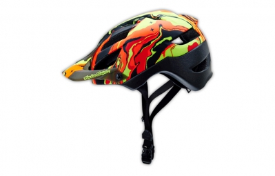 Casque TROY LEE DESIGNS A1 DRONE Galaxy Red