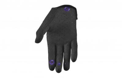 661 SIXSIXONE 2015 Paire de Gants COMP Noir Violet