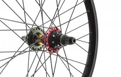 ROCK BMX Roue Arriere 20´´ SWR Edition limitee LHD Noir Rasta