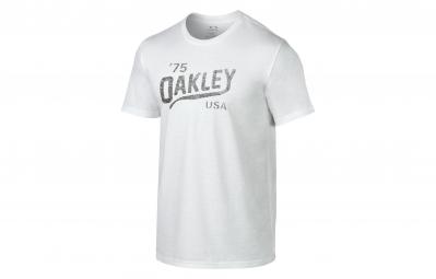 Camiseta Oakley Legs Reverse Blanco