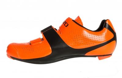 Chaussures Route GIRO PROLIGHT SLX II Orange Fluo Noir