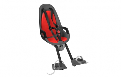 HAMAX Child Bike Seat CARESS OBSERVER Red Grey