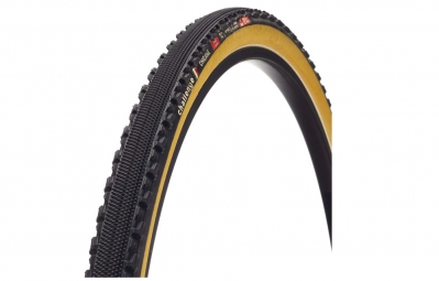 Pneu cyclo cross challenge chicane pro noir beige 33 mm
