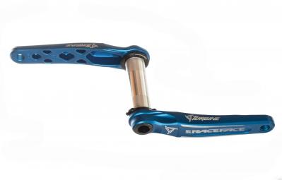 race face pedalier turbine cinch axe 30mm sans boitier sans plateau bleu 175
