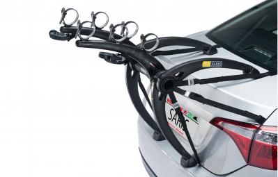 SARIS Porte-Vélo BONES Pour 3 Vélos Pour Hayon Jaune