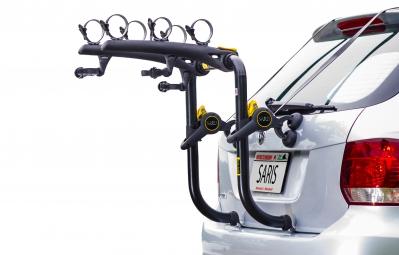 SARIS Porte-Vélo BONES RS Pour 3 Vélos Pour Hayon Noir