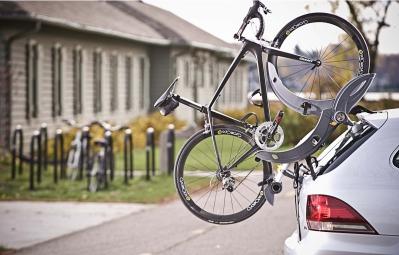 SARIS Porte-Vélo GRAN FONDO Pour 2 Vélos Pour Hayon Noir