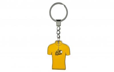 Tour de france porte cles maillot jaune acier