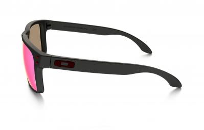 Gafas Oakley HOLBROOK black red Iridium / Miroir