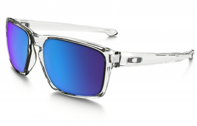 oakley lunettes sliver clear sapphire iridium ref oo9262 06
