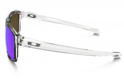 oakley lunettes sliver clear sapphire iridium ref oo9262 06