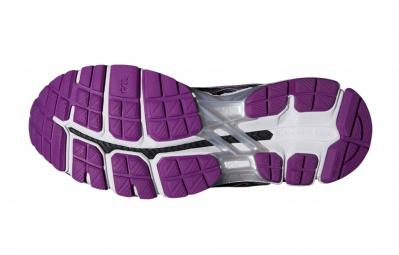 asics gel kayano 21 noir violet femme 36