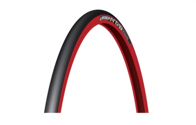 Pneu michelin pro4 service course 700x23c tringle souple rouge