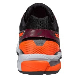 asics gel stratus 2 noir orange 44 1 2