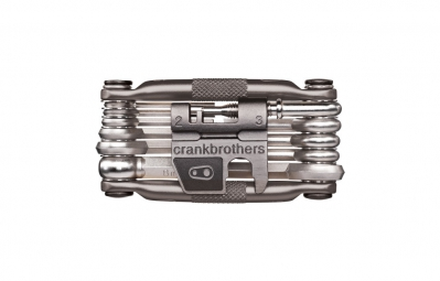 CRANKBROTHERS Multi-Outils M17 17 Fonctions Gris