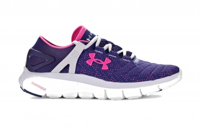 Under armour paire de chaussures speedform fortis violet femme 36 1 2