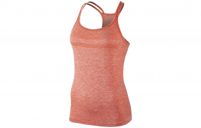 nike debardeur dri fit knit orange femme m