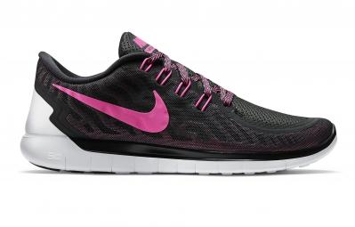 Nike free 5 0 noir rose femme 36