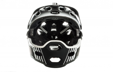 Casque BELL SUPER 2R Blanc Noir