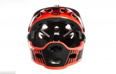 Casque BELL Super 2R Orange Noir