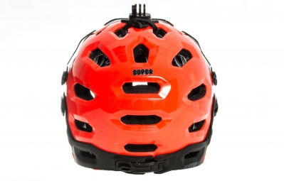 Casque BELL SUPER 2R MIPS Orange Noir