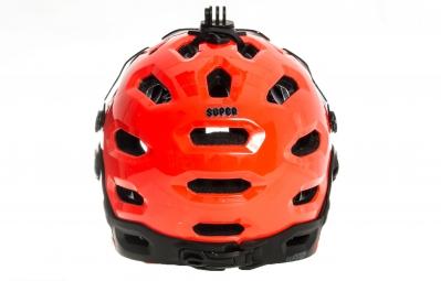 Casque BELL SUPER 2R MIPS Orange Noir