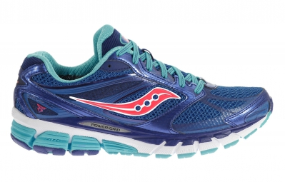 saucony chaussures guide 8 bleu corail femme 37