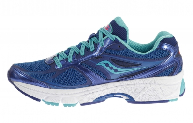 SAUCONY Chaussures Guide 8 Bleu Corail Femme