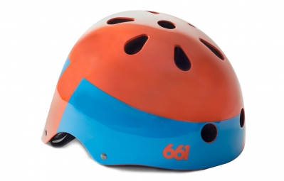 Casque Bol 661 SIXSIXONE DIRT LID Orange Taille unique