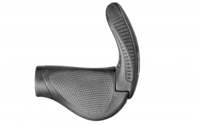 ERGON Grips with Bar End for GripShift GP3 Black