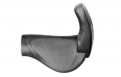 ERGON Grips with Bar End for GripShift GP2 Black