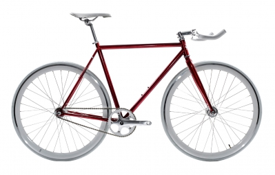 STATE Vélo Complet Fixie CARDINAL Rouge