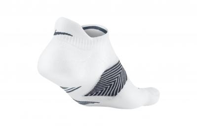 nike chaussettes running dri fit cushioning blanc 35 38