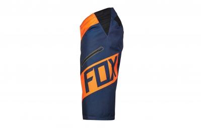 FOX Short DEMO DH CRANKWORX Série Limitée Orange Bleu