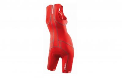 2XU Combinaison Tri fonction ACTIVE femme rouge neon