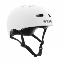 Casco bol TSG SKATE/BMX Solid Color Blanco