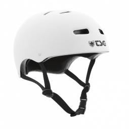 Casque bol TSG SKATE/BMX Solid Color Blanc