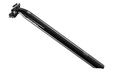 ritchey tige de selle wcs aluminium recul 20mm noir brillant 31 6 x 400