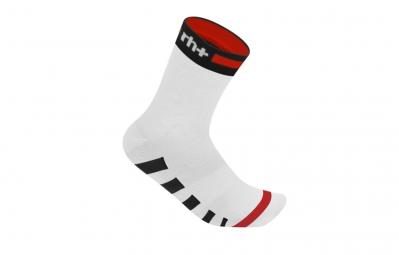 zero rh paire de chaussettes ergo 13 blanc noir rouge 37 41
