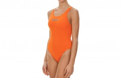 arena maillot de bain femme makinas high orange 44