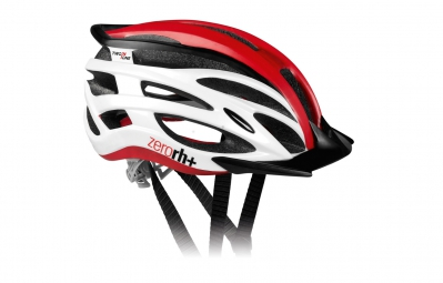 casque zero rh 2in1 blanc rouge l xl 58 62 cm