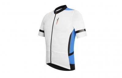 ZERO RH maillot RACE FZ Noir Blanc bleu