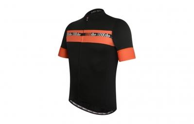 zero rh maillot academy fz noir orange m