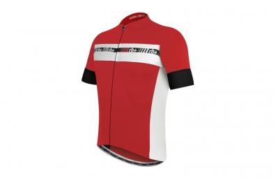 zero rh maillot academy fz rouge blanc noir m