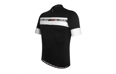 zero rh maillot academy fz noir blanc m